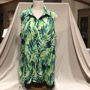 Kim Rogers size XL Sleeveless top